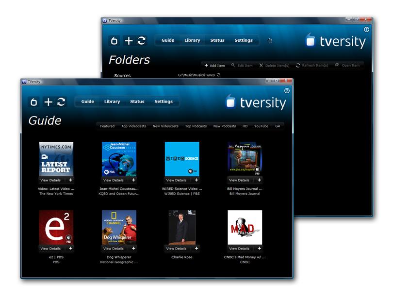 TVersity Media Server - Official Site